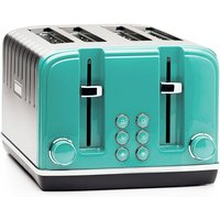 Buy Haden Salcombe 4-Slice Toaster - Deep Teal - Robert Dyas