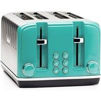 Buy Haden Salcombe 4-Slice Toaster - Deep Teal - Robert Dyas