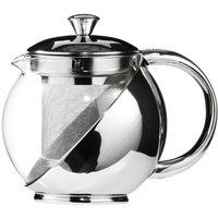 Premier Housewares Clear Glass Teapot - 650ml