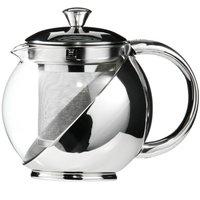 Premier Housewares Clear Glass Teapot - 700ml