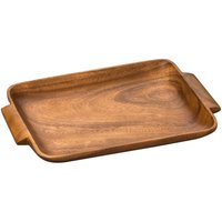 Premier Housewares Kora Wooden Serving Tray with Handles