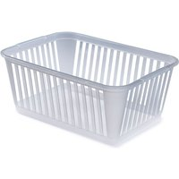 Whitefurze 45cm Handy Storage Basket - White