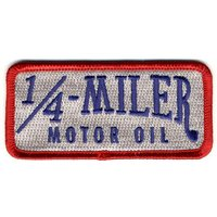 Aufnäher 1/4 Miller Motor Oil