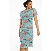 Blitz Print Tea Dress
