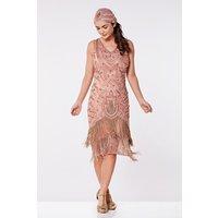 Rose Flapper Dress