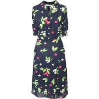 Cherry Print Tea Dress