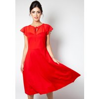Red Tea Dress