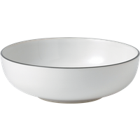 Bread Street White Cereal Bowl By Royal Doulton | 6.7 in W x 6.7 in L