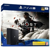 Console Sony PS4 Pro Ghost of Tsushima 1 To Noir