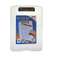Tiger A4 Tuff Box With Clipboard at Ryman Stationery