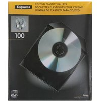 CD Plastic Envelopes 100 Pack