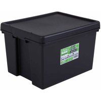 Click to view product details and reviews for Wham Bam Recycled Storage Boxes 45 Litre Pack Of 3 Black.