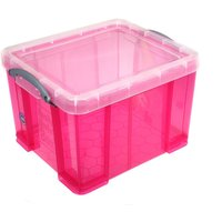 Really Useful Box 35 Litre, Bright Pink