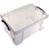 Really Useful Storage Box 48 Litre Clear, Clear