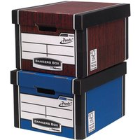 Click to view product details and reviews for Bankers Box By Fellowes Premium 725 Classic Storage Boxes With Presto Woodgrain.