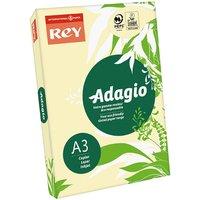Adagio Copier Paper A3 80gsm Ream, Canary