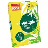 Adagio Copier Paper A3 80gsm Ream, Yellow