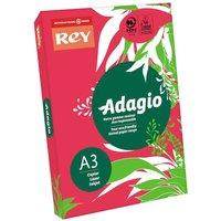 Adagio Copier Paper A3 80gsm Ream, Red