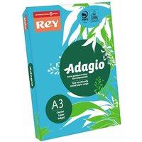 Adagio Copier Paper A3 80gsm Ream, Deep Blue