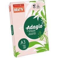 Adagio Copier Paper A3 80gsm Ream, Pink