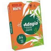 Adagio Colour Selection Card A4 160gsm 250 Sheets, Orange