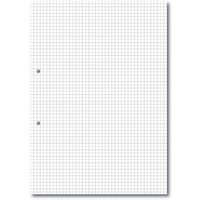 A4 Loose Leaf Paper 5mm Square Ruled 2 Hole Punched, 2 Hole Ream