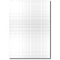 A4 Loose Leaf Paper 5mm Square Ruled, Un Pched Ream