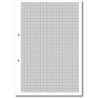 A4 Loose Leaf Paper Graph Ruled 1,5,10, 2 Hole Punched, 2 Hole Ream