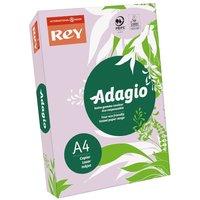 Adagio Ream of Bright Coloured Copier Paper A4 80gsm 500 Sheets, Lilac