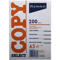 Ryman Copier Paper A5 80gm Pack of 6 White, White