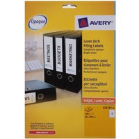Avery Laser Labels 200x60mm Filing 4 per Sheet Pack of 125 Sheets