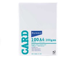 Ryman Card A4 200GSM Pack of 300