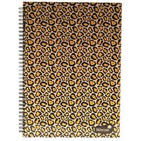 Silvine Fashion Cheetah Twin Wire A4 Notebooks 140 Pages 70 Sheets Pack of 5