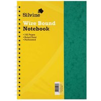Click to view product details and reviews for Silvine Notebook Twin Wire Stiff Press Board Pack Of 6 A4 75gsm 192 Pages.