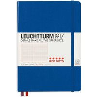 Leuchtturm 1917 Notebook Red Dotted A5, Royal Blue