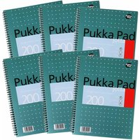Pukka Metallic Jotta 200 Page A4 Pack of 6