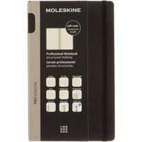 Moleskine Professional Notebook Soft Cover Large Black, Black