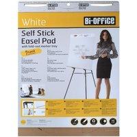Bi-Office Flip Chart Pad Sticky A1 30 Sheet Pack of 2