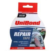 Unibond Repair Tape 50mm x 20m, Transparent
