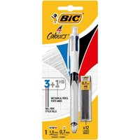 BiC 4-Colours Multifunction Pen and Mechanical Pencil Plus Leads