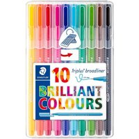 Staedtler Triplus Broadliner Pack of 10