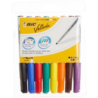 Bic Velleda Whiteboard Markers Pack of 8 Assorted, Asstd