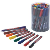 Click to view product details and reviews for Edding 361 Drywipe Markers 8 Assorted Colours Tub Of 50 Fine Tip Asstd.