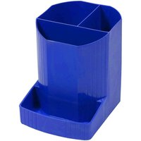 Exacompta Mini OCTO Pen Pot Cobalt Blue