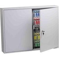 Phoenix KC0607K Commercial Key Cabinet with Key Lock 600 Hook, Light Grey
