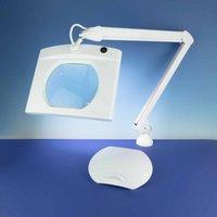 Lightcraft Rectangular LED Magnifier Lamp
