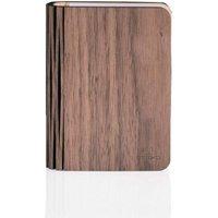 Gingko Smart Wood Book Light  Walnut
