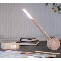Gingko Octagon One Desk Lamp  Ash