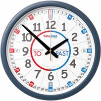 EasyRead Classroom Time Teaching Wall Clock Past and To 35cm