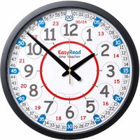 EasyRead Playground Time Teaching Wall Clock 24 Hour 36 cm